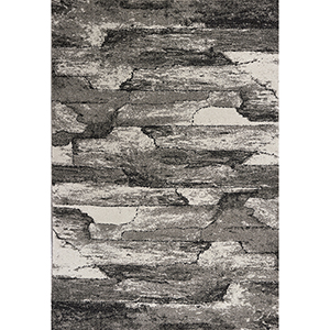 Landscapes Grey Highlights Rectangular: 3 Ft. 3 In. X 5 Ft. 3 In. Rug
