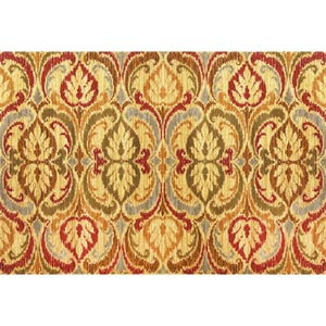 Lifestyles Gold Firenze Rectangular: 5 ft. 3 in. x 7 ft. 7 in. Rug