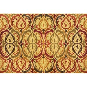 Lifestyles Jeweltone Firenze Rectangular: 5 ft. 3 in. x 7 ft. 7 in. Rug