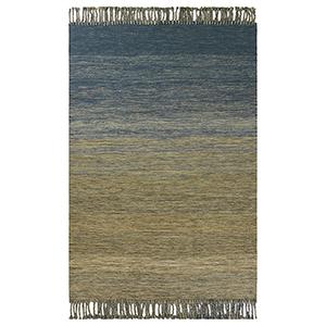 Libby Langdon Homespun Ocean Landscape Rectangular: 5 Ft. x 8 Ft. Rug
