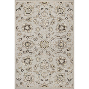Lucia Silver Rectangular: 3 Ft. 3-Inch x 4 Ft. 11-Inch Rug