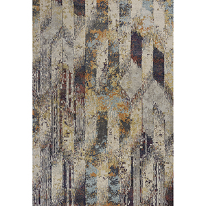 Mediterra Ivory Strata Rectangular: 9 Ft. 10 In. X 13 Ft. 2 In. Rug