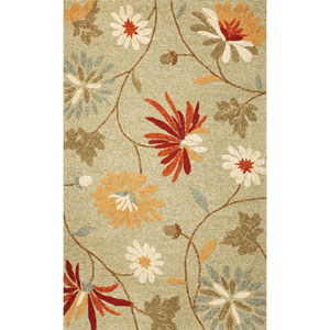 Meridian Sage Sofia Rectangular: 5 Ft. x 7 Ft. 6 In.  Rug