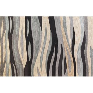 Milan Grey Breeze Rectangular: 5 ft. x 7 ft. 6 in. Rug
