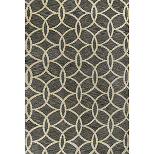 Mission Grey Illusions Rectangular: 3 Ft. 3 In. x 5 Ft. 3 In. Rug