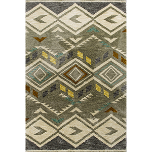 Mission Grey Rustico Rectangular: 3 Ft. 3 In. x 5 Ft. 3 In. Rug