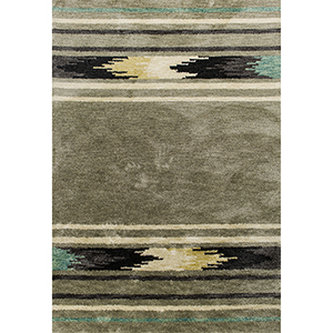 Mission Silver Sage Horizon Rectangular: 3 Ft. 3 In. x 5 Ft. 3 In. Rug