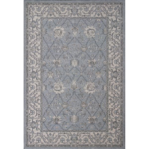 Pesha Frost and Oatmeal Rectangular: 2 Ft. 7-Inch x 4 Ft. 11-Inch Rug