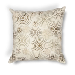 Ivory 18-Inch Throw Pillow
