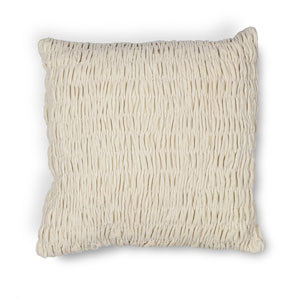 Ivory 20-Inch Throw Pillow