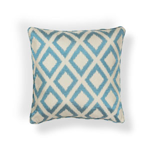 Turquoise 20-Inch Throw Pillow