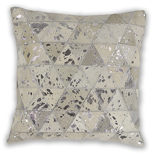 Ivory Prism 18 In. Pillow
