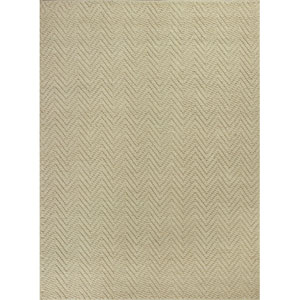 Porto Ivory Herringbone Rectangular: 2 Ft. 3In. x 3 Ft. 9 In. Rug