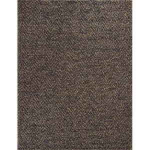 Porto Mocha Heather Herringbone Runner: 2 Ft. x 7 Ft. 6 In. Rug