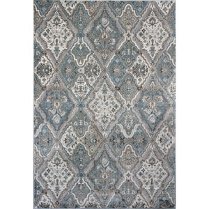 Provence Silver Rectangular: 2 Ft. 2-Inch x 3 Ft. 7-Inch