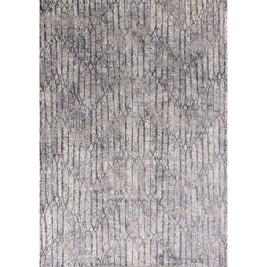 Provence Gray Blue Rectangular: 2 Ft. 2-Inch x 3 Ft. 7-Inch