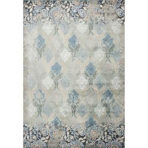 Provence Slate Blue Rectangular: 2 Ft. 2-Inch x 3 Ft. 7-Inch