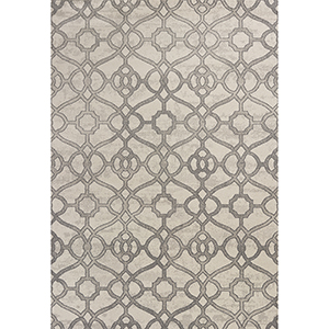 Reflections Ivory Windsor Rectangular: 5 Ft. 3 In. x 7 Ft. 7 In. Rug