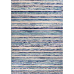 Reflections Blue Horizons Rectangular: 2 Ft. 7 In. x 4 Ft. 11 In. Rug