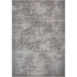 Reflections Gray Rectangular: 2 Ft. 7-Inch x 4 Ft. 11-Inch