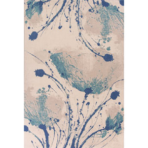 Reflections Ivory Serenity Rectangular: 7 Ft. 10 In. x 11 Ft. 2 In. Rug