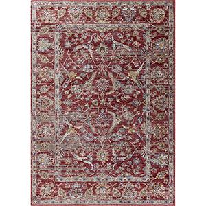 Ashton Red Elegance Rectangular: 5 Ft. 3 In. x 7 Ft. 7 In. Rug