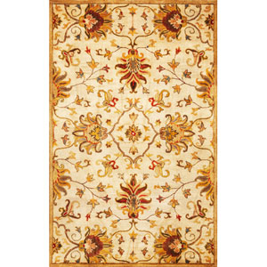 Syriana Champagne Agra Rectangular: 3 Ft. 3 In. x 5 Ft. 3 In.  Rug