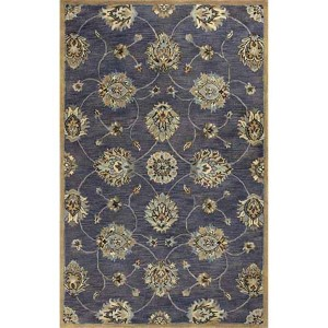 Syriana Midnight Kashan Runner: 2 Ft. 3 In. x 7 Ft. 6 In. Rug