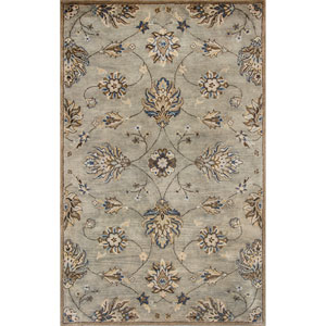 Syriana Gray Rectangular: 3 Ft. 3-Inch x 5 Ft. 3-Inch