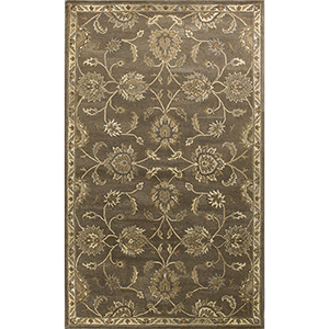 Syriana Coffee Ava Round: 5 Ft. 6 In. Rug
