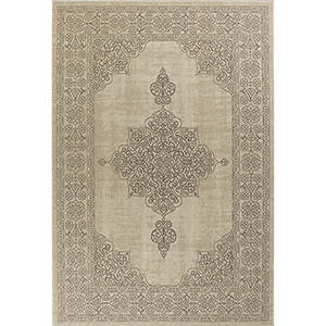 Tahoe Natural Medina Rectangular: 3 Ft. 3 In. x 4 Ft. 11 In. Rug