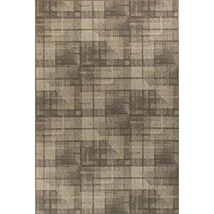 Tahoe Natural Twill Rectangular: 3 Ft. 3 In. x 4 Ft. 11 In. Rug