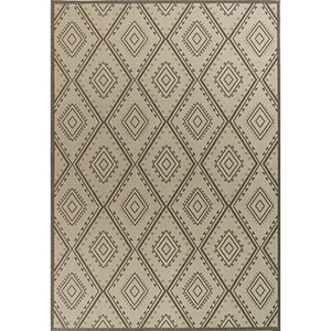 Tahoe Ivory Bungalow Rectangular: 3 Ft. 3 In. x 4 Ft. 11 In. Rug