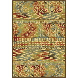 Versailles Coffee Tropez Rectangular: 5 Ft. 3 In. x 7 Ft. 7 In.  Rug