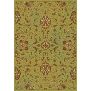 Versailles Sage Mahal Rectangular: 5 Ft. 3 In. x 7 Ft. 7 In.  Rug