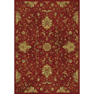 Versailles Red Mahal Rectangular: 5 Ft. 3 In. x 7 Ft. 7 In.  Rug