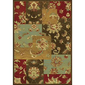 Versailles Mocha Mahal Views Rectangular: 5 Ft. 3 In. x 7 Ft. 7 In.  Rug
