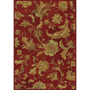 Versailles Red Aegean Scroll Rectangular: 7 Ft. 10 In. x 11 Ft. 2 In.  Rug