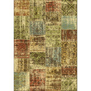Versailles Espresso Antica Rectangular: 5 Ft. 3 In. x 7 Ft. 7 In.  Rug