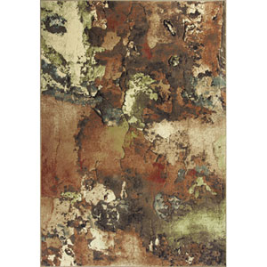 Versailles Multi Watercolors Rectangular: 5 Ft. 3 In. x 7 Ft. 7 In. Rug