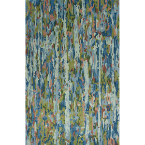 Whisper Sky Blue Artisan Rectangular: 3 Ft. 3 In. x 5 Ft. 3 In. Rug
