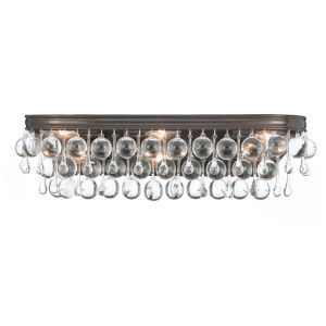 Calypso Vibrant Bronze Six Light Bath Fixture
