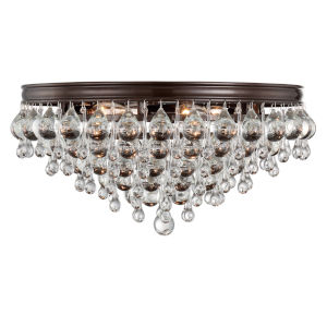 Calypso Vibrant Bronze Six-Light Ceiling Mount