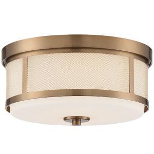 Truax Aged Brass Three Light Sixteen Inch Pendant