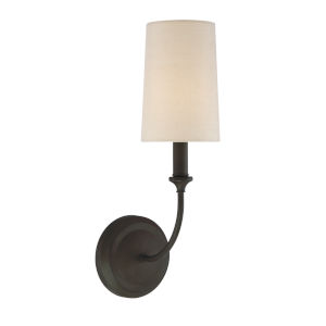 Sylvan Dark Bronze One-Light Wall Sconce
