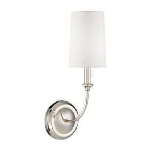 Sylvan Polished Nickel One-Light Wall Sconce