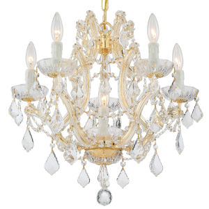 Traditional Crystal Maria Theresa Chandelier with Swarovski Spectra Crystal