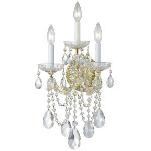 Maria Theresa Sconce with Swarovski Spectra Crystal