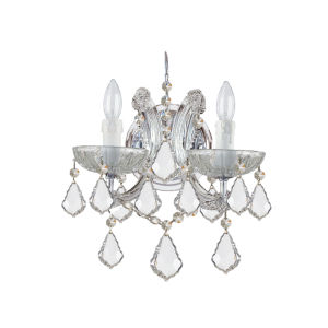 Maria Theresa Sconce with Swarovski Strass Crystal