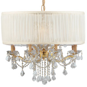 Brentwood Gold 12-Light Chandeliers